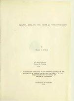 Charles H. Jones 1848-1913 : editor and Progressive Democrat