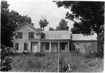 Marjorie Kinnan Rawlings' Van Hornesville, New York, House at time of purchase, before renovations.