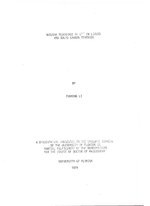 Nuclear resonance of O17 in liquid and solid carbon monoxide /