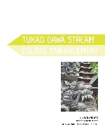 Tukad Dawa Stream course enhancement