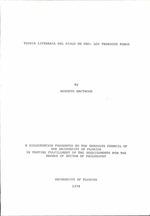 Teoria literaria del Siglo de Oro