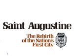 Saint Augustine : the rebirth of the Nation's first city