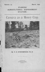 Cassava as a money crop /
