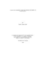 Generalized econometric models and methods for markets in disequilibrium