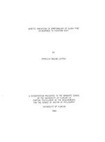 Genetic variation in symptomology of slash pine in response to fusiform rust