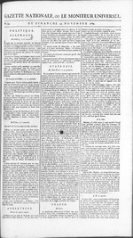 Gazette nationale, ou, Le moniteur universel