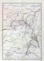 Karte der entdeckungen Dr. Schweinfurth's in Central-Africa, 1874