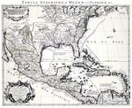 Carte du Mexique et de la Floride, des terres Angloises et des isles Antilles