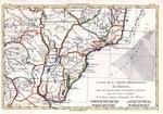 Carte de la partie meridionale du Bresil, avec les possessions espagnoles voisines qui en spmtquest