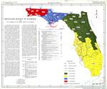 Drainage basins in Florida ( FGS: Map series 28 )