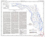 The difference between rainfall and potential evaporation in Florida ( FGS: Map series 32 )