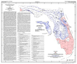 Depth to base of potable water in the Floridan Aquifer ( FGS: Map series 42 )