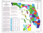Estimated water use in Florida, 1980 ( FGS: Map series 103 )