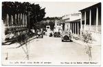 La calle Real, vista desde el parque.  San Diego de los Banos. (Hotel Saratoga)