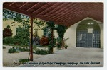 """One of the corridors of the Hotel """"Camaguey"""", Camaguey"""