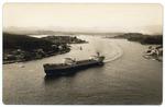 Entrada a la Bahia de Santiago de Cuba. COLECCION CINE FOTO 2. Mimosa. Kiel. (verso)