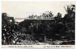 Puente de hierro, sobre el Rio.  San Diego de los Banos.  (Hotel Saratoga).