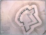 Plano de un Reducto que se propone construiren la Isla Amelia, Copy