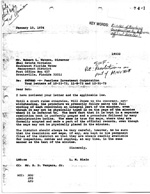 Opinion File 74-1