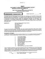 Exhibit 6 - Draft - SWFWMD Individual Water Use Permit