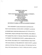 Northern Tampa Bay Agreement Between WCRWSA And SWFWMD OF 10/14/97