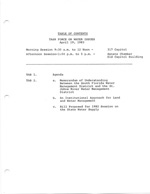 Task Force on Water Issues, April 19,1983, Senate Chamber