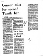 More Newspaper Articles Relating to the Memo to Members of the Task Force on Water Issues from W'm Sadowski Dated April 28, 1983
