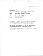 Memo Re: HB 47-B and Summary - Newspaper Articles