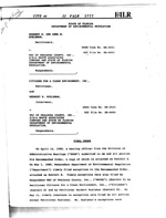 Herbert H. and Anna M. Huelsmanvs WAC of Okaloosa County - Final Order