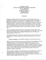 Summary of the Land Use And Water Planning Task Force, May 13, 1994 Meeting