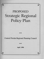 Proposed Strategic Regional Policy Plan