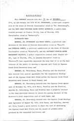 Contract Between St. Petersburg and the West Coast Regional Water Supply Authority