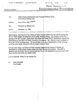 Water Supply Development and Funding Working Group (Full Group Mailing List)