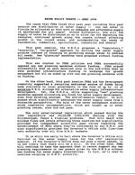 Water Policy Update -- SEBC 1996