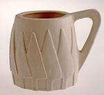Mug: fir tree motif