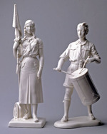 Bund Deutscher Mädel Fahnenträgerin [League of German Girls Standard-bearer]