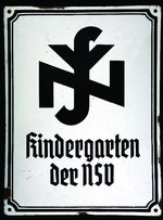 Kindergarten der NSV (Nationalsozialistische Volkwohlfahrt) [Kindergarten of the National Socialist People's Welfare Association]