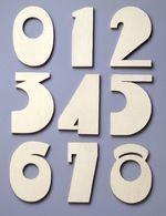 Signage: Numeral 1