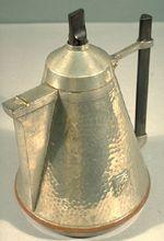 Coffeepot: peapod motif