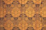 Fabric sample:  floral motif