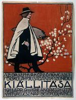 Kiállitasa (study for poster for Royal Academy 1911)