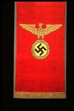Nazi rug: eagle motif