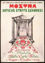 Mostra Antiche Stoffe Genovesi [Exhibition of Antique Genoese Textiles]