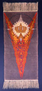 [Tapestry by Dirk Verstraten to commemorate the 25th anniversary of the reign of Queen Wilhelmina of Netherlands], [1923]