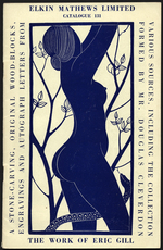 A catalogue of the work of Eric Gill selected from our stock