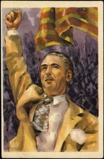 El Presidente de la Generalidad de Cataluña, D. Luis Companys, político insigne, de espíritu generoso y liberal