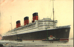 Abstract of log of the Cunard White Star R.M.S. Queen Mary