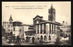 I Padiglioni della Lombardia e del Piemonte