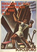 Federazione dei Fasci di Combattimento dell'Urbe, A. XII