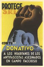 Protege con tu donativo a los huérfanos de los antifascistas asesinados en campo faccioso